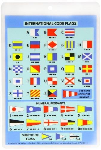 International Code Flags - Cockpit Card por Robert Dearn