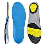 Voroly Foot Arch Support Shoes Insole Orthotic Orthopedic Shock Absorption Foot Sweat Absorbent