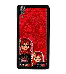 Beautiful Russian Dolls 2D Hard Polycarbonate Designer Back Case Cover for Lenovo A6000 :: Lenovo A6000 Plus :: Lenovo A6000+