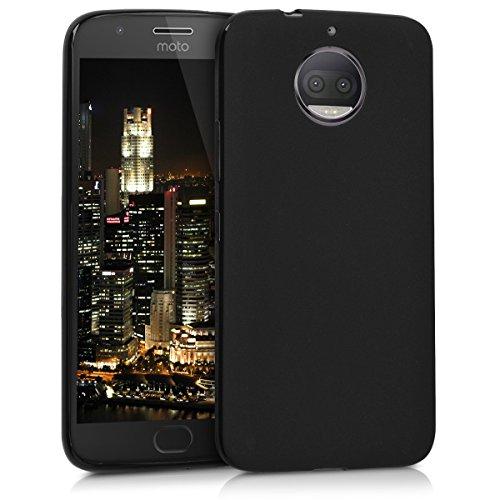 kwmobile Motorola Moto G5S Plus Hülle - Handyhülle für Motorola Moto G5S Plus - Handy Case in Schwarz matt