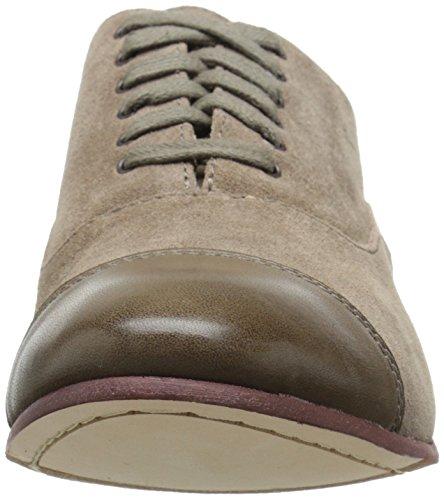 Sebago Women's Hutton Cap Toe Boot, Dark Taupe Suede, 5 M US Dark Taupe Suede