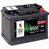 SIGA OPTILIFE Autobatterie 12V 65Ah **4 JAHRE GARANTIE** statt 60Ah 61Ah 62Ah 63Ah 64Ah
