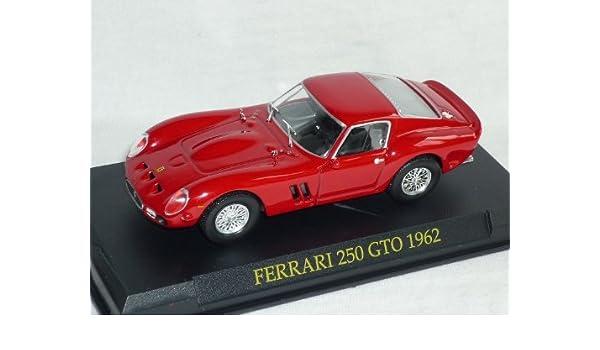 Ferrari 250 GTO 1962 rot 1:43 IXO//Altaya Modellauto