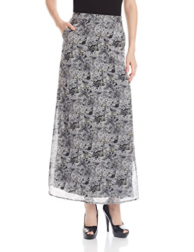 The Vanca Women's A-Line Skirt (SKF350140-Grey-XL )  available at amazon for Rs.519
