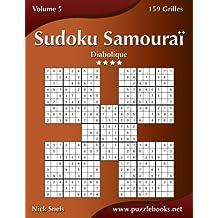 Sudoku Samouraï - Diabolique - Volume 5 - 159 Grilles