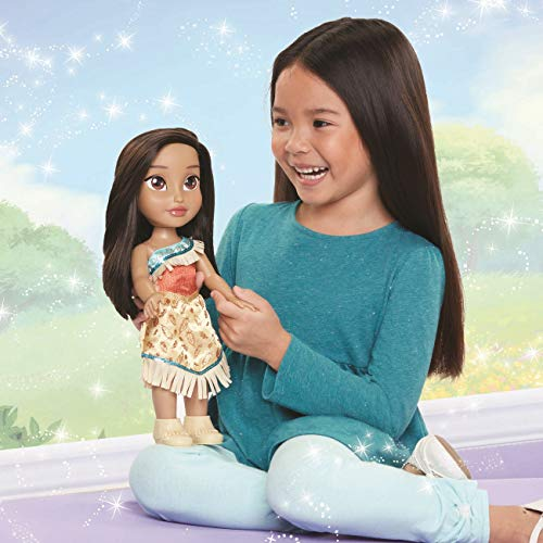 Taldec-55048-Disney Prinzessinnen Puppe 38cm-Pocahontas