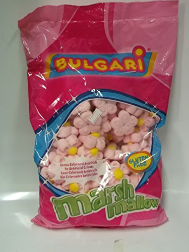 Marshmallow Margherita Rosa 900g Bulgari