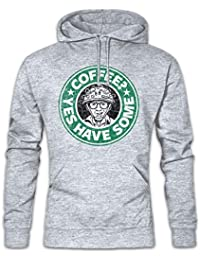 Yes Have Some Coffee Hoodie Sudadera con Capucha Sweatshirt Tamaños S – 2XL