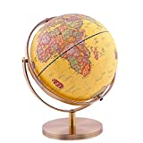 Globe Universal-High-Definition-Unterricht Studenten Bronze Metall Stent Full Metal Frame Retro Globe