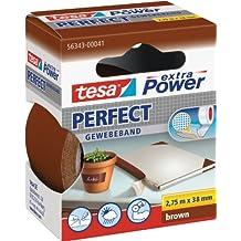 Tesa 56343-00041-03 Power Perfect - Cinta adhesiva , color marrón