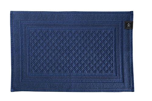 Grand diseño 30384–6diamantes alfombra, azul marino