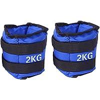 ZJchao Adjustable Wrist Ankle Weights Exercise Fitness Gym Resistance Stength Training Running 1kg,2kg,3kg,4kg, 5kg,6kg