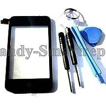 hsrpro pantalla táctil para Apple de iPod touch 2–De 2G de de 2Gen con Home Button y marco Incluye Reparación Herramientas