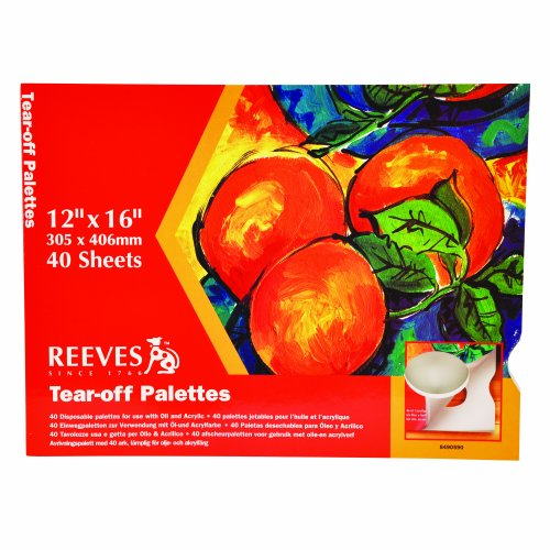 reeves-12x16-tear-off-palette-paper-pad-pack-of-40
