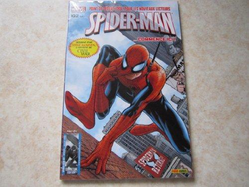 SPIDER-MAN N° 102 un nouveau jour (juill 2008) EDITION COLLECTOR par DAN SLOTT