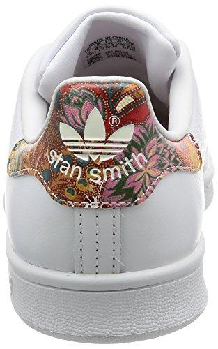 adidas Stan Smith W, Chaussures de Tennis Femme Blanc Cassé (Ftwwht/ftwwht/owhite)