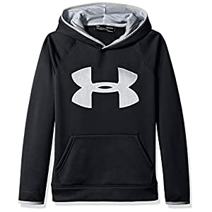 Under Armour Af Big Logo Hoody – black / steel / overcast gray
