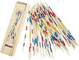 Trinkets & More - Mikado   Wooden 31 Pick-Up Sticks   Best Return Gift   Fun Family Indoor Board Game for Adults and Kids 5+ Years (Pack of 1)