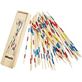 Trinkets & More - Mikado | Wooden 31 Pick-Up Sticks | Best Return Gift | Fun Family Indoor Board Game for Adults and…