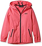 Under Armour Girls Spring Swacket, Penta Pink/Black, Youth X-Small