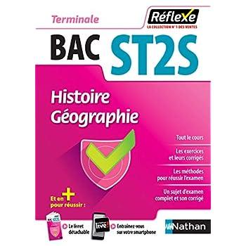 Histoire-Géographie - Terminale ST2S - Bac 2020