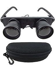 Bazaar 3x28 lupa teatro óptica de pesca gafas binoculares telescopio
