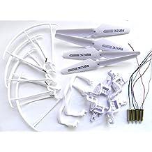 Haibei Syma X5 X5c X5c-1 Quadcopter Set Completo Parte 4 * Motores Propulsores de Skid Landing Protectores de Motor Base