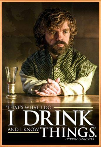 1art1 Il Trono di Spade Poster Stampa e Cornice (Plastica) - Tyrion...