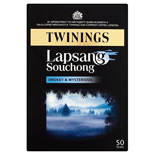 Twinings Lapsang Souchong Tea Bags (50) - Packung mit 2 (Lapsang Souchong Twinings)