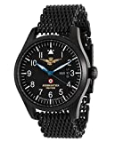 Aeronautica Militare AVP1M - Reloj, correa de acero inoxidable color negro