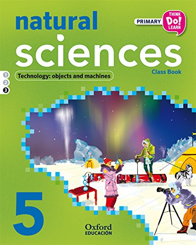 Think Do Learn Natural Science 5th Primary. Student's Book Module 3 - 9788467384185