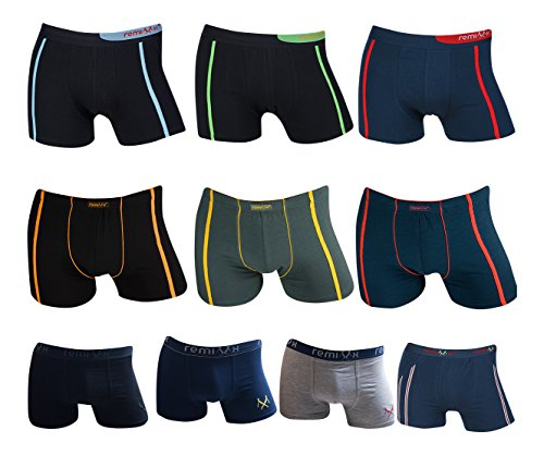 10er Pack Remixx Boxershorts Retroshorts Kids Pants Gr. 128 - 170 (152 - 158)