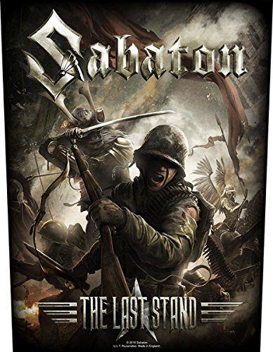 Sabaton The Last Stand Toppe schiena standard