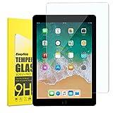 iPad 9.7 2017 Schutzfolie, EasyAcc Klar Anti-Kratz 9H Hardness Glas Folie Panzerfolie Displayschutz - Für New iPad 9.7 2017/ iPad Pro 9.7 Gehärtetem Glas