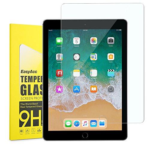 iPad 9.7 2018/ 2017 Schutzfolie, EasyAcc Klar Anti-Kratz 9H Hardness Glas Folie Panzerfolie Displayschutz - Für New iPad 9.7 2018/ 2017/ iPad Pro 9.7 Gehärtetem Glas (Ipad Air 2 Glas-screen Protector)