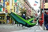 Hängematte Silk Traveller Fallschirmseide grün – Belastbar bis 150 Kg - 5
