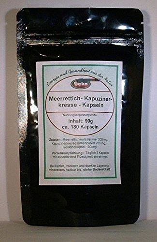 Meerrettich-Kapuzinerkresse-Kapseln 90g ca.180 Kapseln a´500mg OVP