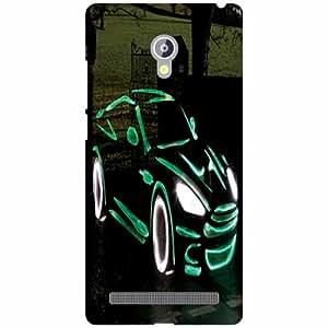 Asus Zenfone 6 A601CG Phone Cover -Design & Art Matte Finish Phone Cover