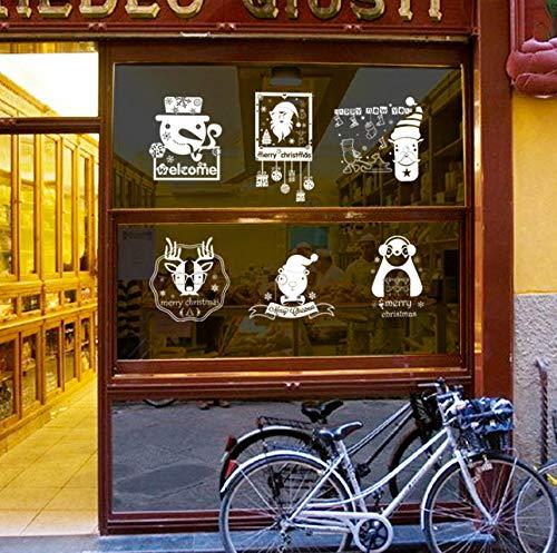 kleber Shop Restaurant Glasfenster Aufkleber Wohnzimmer Schlafzimmer Transparente Aufkleber ()