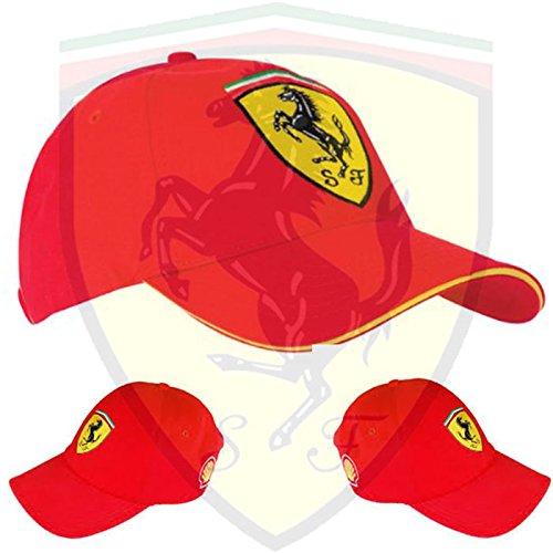 Gorra oficial Scuderia Ferrari-Ferrari Logo cosido