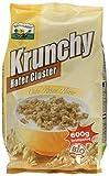 Barnhouse Krunchy Hafer Cluster, 3er Pack (3 x 600 g Beutel) - Bio