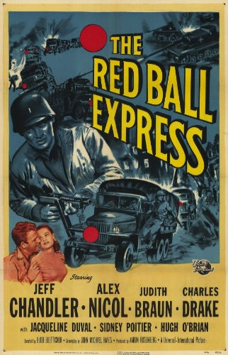 Red Ball Express Movie Poster (27,94 x 43,18 cm)