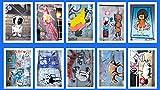Street Art Postkarten * Best of Berlin Street Art * The Street Art Years * 10 St. Set 02