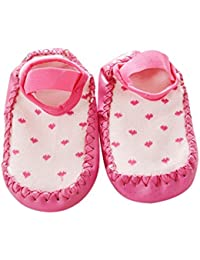Ouneed® 0 - 24 mois Bebe Chaussettes Chaussures Choussons a domicile