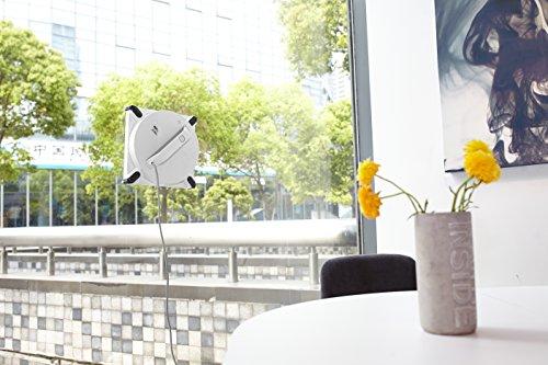 Ecovacs WINBOT 950 Fensterreinigungsroboter für automatische, gründliche und schnelle Reinigung von fast allen Glasoberflächen, weiß -