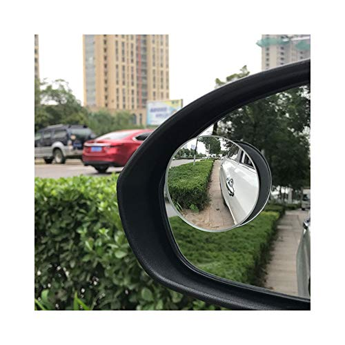Preisvergleich Produktbild QCHSJLLL Universal Auto Weitwinkel Kleine Runde Spiegel Rückspiegel Für Volvo S40 S60 S80 S90 V40 V60 V70 V90 Xc60 Xc70 Xc90
