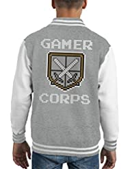Gamer Corps Kid's Varsity Jacket
