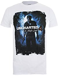 Official Merchandise Uncharted 4 - A Thief's End Cover - Offizielles Herren T-Shirt