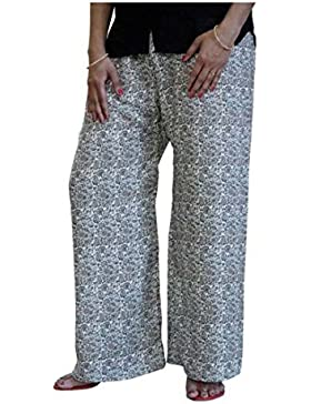 Indian Handicrfats Export DiscountZila Flared Women's Multicolor Trousers