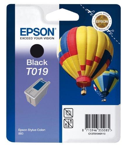 Epson T019 Cartouche d'encre d'origine Noire pour Stylus Color 880